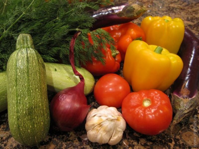 рецепты баклажан кабачок перец фото