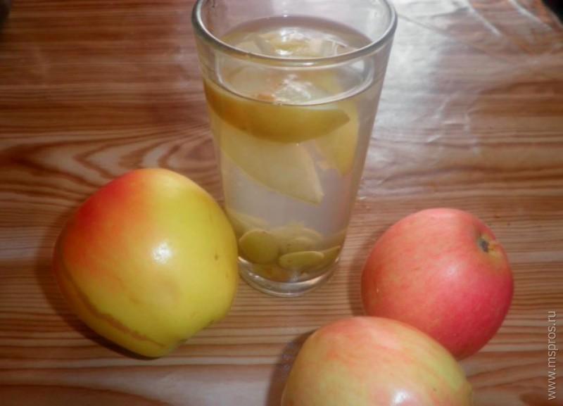 Сколько хранится компот из яблок